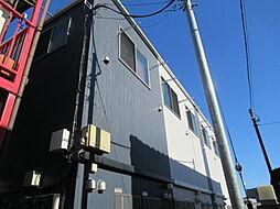 東京都中野区江古田3丁目の賃貸アパートの外観