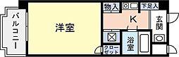G−ONE西新II[402号室]の間取り