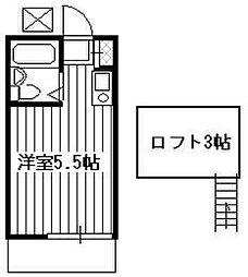 NKコーポ[105号室]の間取り