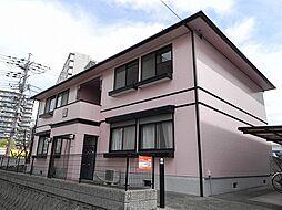 大阪府豊中市西緑丘3丁目の賃貸アパートの外観