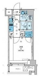 西武有楽町線 小竹向原駅 徒歩6分の賃貸マンション 4階1Kの間取り