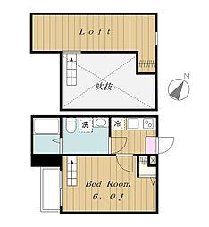 アラーラ[2階]の間取り