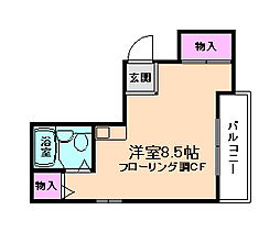 IBK HOUSE[5階]の間取り