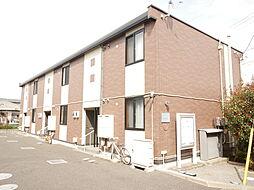 神奈川県厚木市及川の賃貸アパートの外観