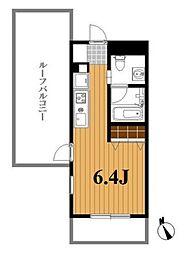 千葉県船橋市西船5丁目の賃貸マンションの間取り