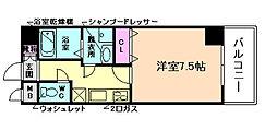 アスヴェル梅田WEST[5階]の間取り