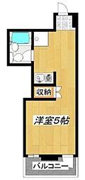 西村アパートメント[2階]の間取り