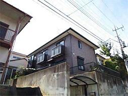 東京都日野市程久保8の賃貸アパートの外観