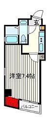 Viale日暮里〜ビアーレ日暮里〜[4階]の間取り