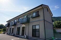 長野県上田市秋和の賃貸アパートの外観