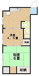 島田ビル[2階]の間取り