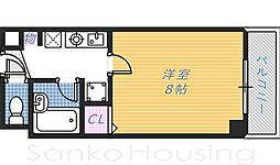 白鷺TKハイツ2号館[2階]の間取り