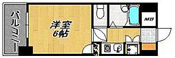 ダイナコート久留米レジックス[1205号室]の間取り