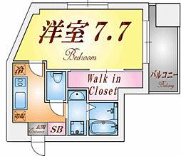 ラウェゾンTAKATORI[2階]の間取り