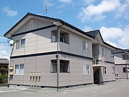 新潟県胎内市東本町の賃貸アパートの外観