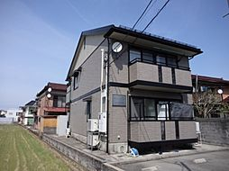 富山県富山市粟島町3丁目の賃貸アパートの外観