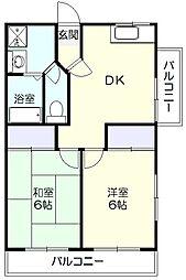 スキップハウス[2階]の間取り