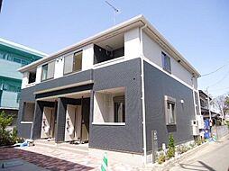 埼玉県さいたま市桜区大字下大久保の賃貸アパートの外観