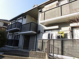 大阪府吹田市竹谷町の賃貸アパートの外観