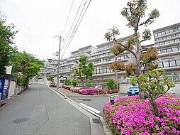 兵庫県神戸市北区西大池2丁目の賃貸マンションの外観