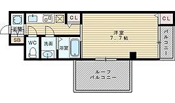 ベル・ペルル[3階]の間取り