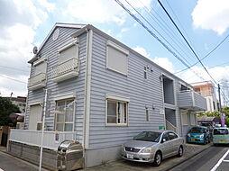 東京都江戸川区東小岩3丁目の賃貸アパートの外観