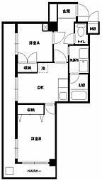 M・1マンション[602号室]の間取り