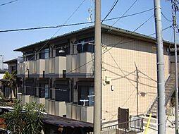 千葉県船橋市前原東3丁目の賃貸アパートの外観