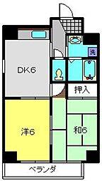 第10Z西村ビル[803号室]の間取り