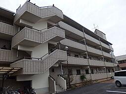 滋賀県栗東市綣6丁目の賃貸マンションの外観