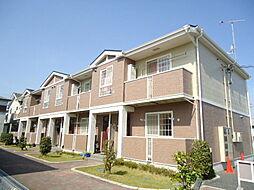 滋賀県東近江市五個荘五位田町の賃貸アパートの外観
