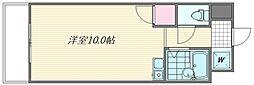 福岡県福岡市東区千早6丁目の賃貸マンションの間取り