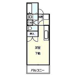メゾンサンスプリング[3階]の間取り