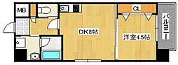DiasII 鶴見6丁目新築[8階]の間取り