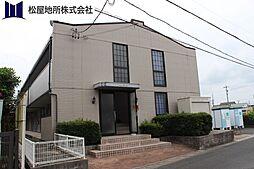 愛知県豊川市谷川町天王の賃貸アパートの外観