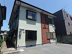 栃木県宇都宮市陽東3丁目の賃貸アパートの外観