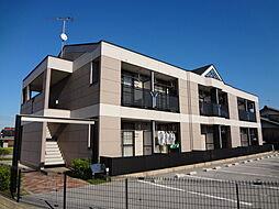 滋賀県愛知郡愛荘町長野の賃貸マンションの外観