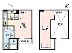 RESIDENCE ODASAGA(レジデンス オダサガ)[2階]の間取り