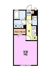 ルピナスI[1階]の間取り
