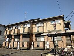 埼玉県狭山市大字上奥富の賃貸アパートの外観