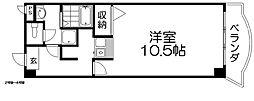 モンシャトー百済坂[1階]の間取り