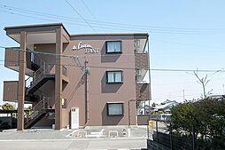 静岡県牧之原市細江の賃貸マンションの外観