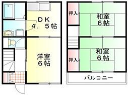 東武越生線 一本松駅 徒歩8分