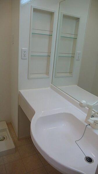 ミッシェルの鏡の大きいカウンタータイプの洗髪洗面化粧台