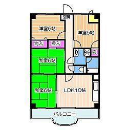 Osaka Metro御堂筋線 北花田駅 徒歩8分の賃貸マンション 7階4LDKの間取り