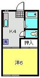コナテラス[2階]の間取り