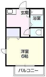 グリーンプラザ[1階]の間取り