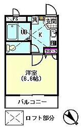 シティライブ東六郷[1階]の間取り