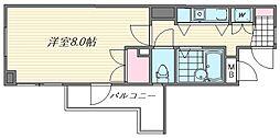 エスポワール箱崎III[9階]の間取り