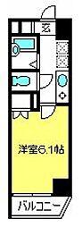 ディアコート八番館[5階]の間取り
